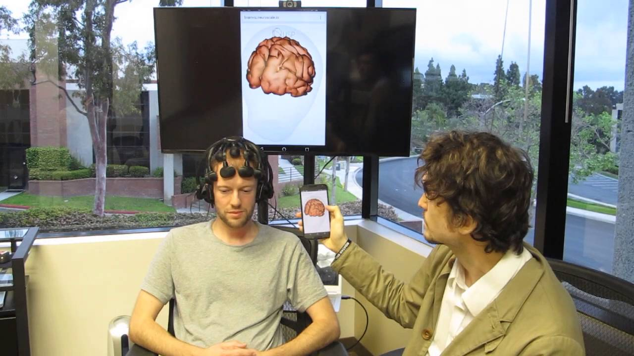 First demonstration of Real-Time Brain Mapping in a Web Browser