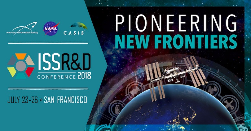 Upcoming presentation at ISS R&D Conference